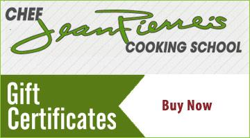 Cooking School Gift Certificates