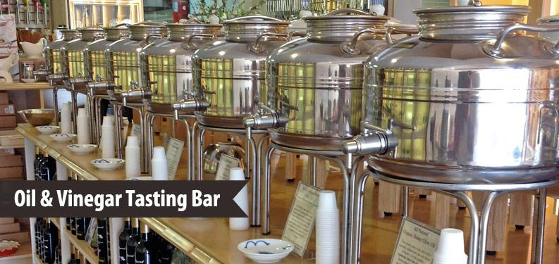 Oil & Vinegar Tasting Bar